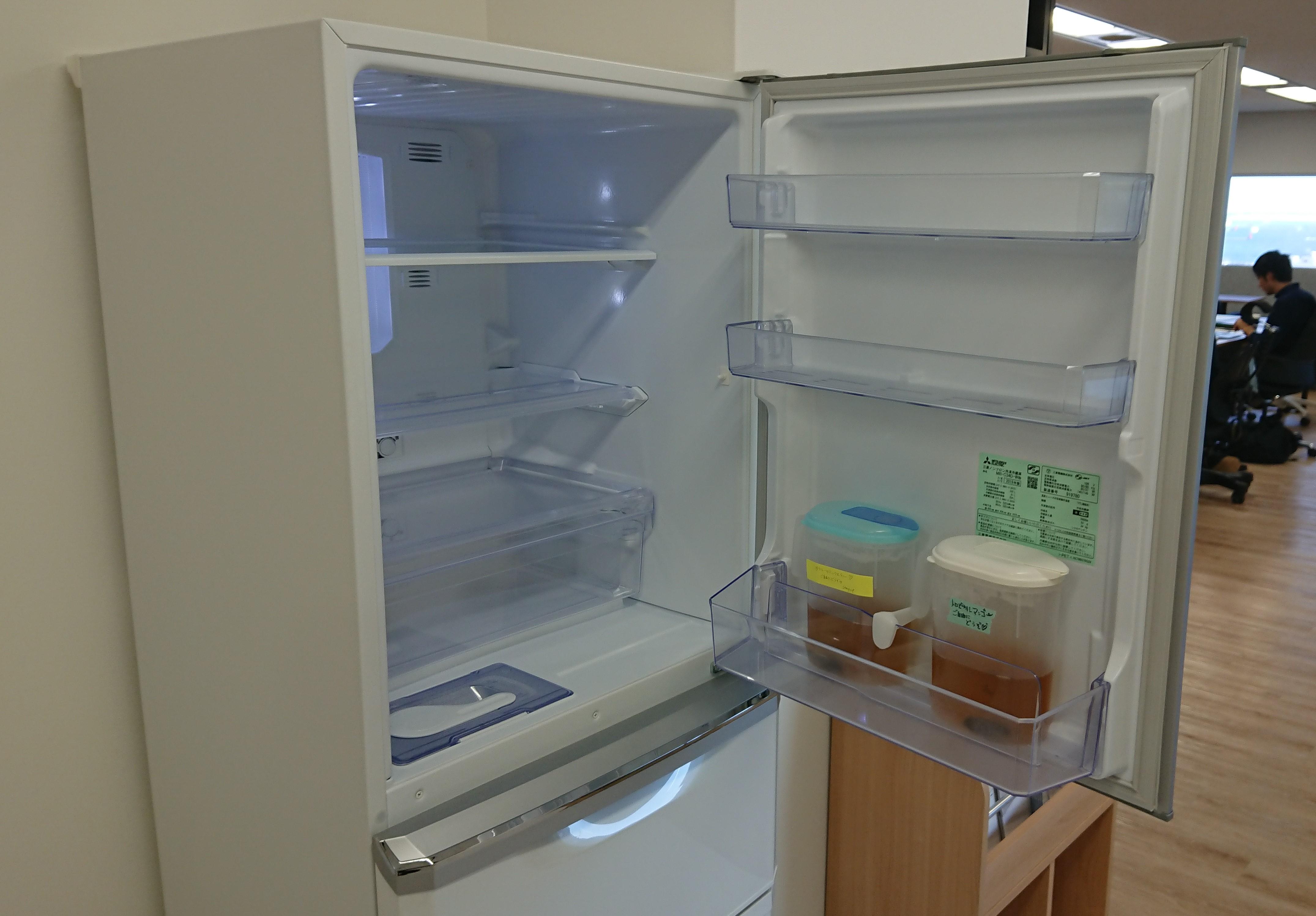冷蔵庫オープン写真